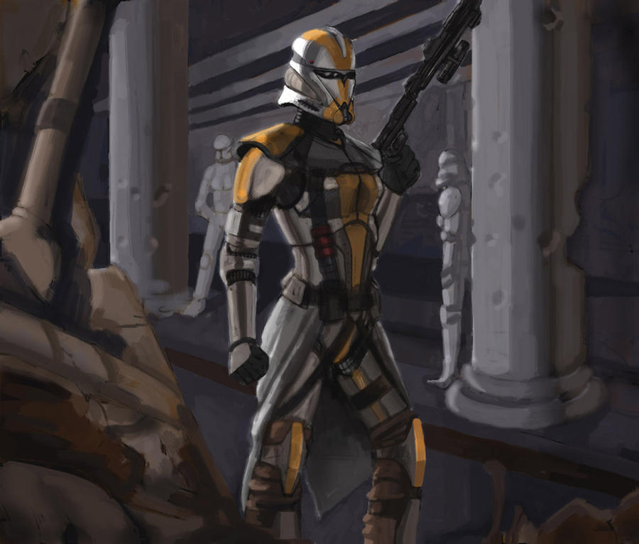 Star wars female clone trooper by goodgirl53