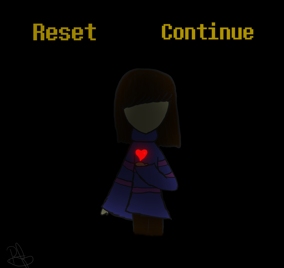 Reset or Continue? by MusicHeart001