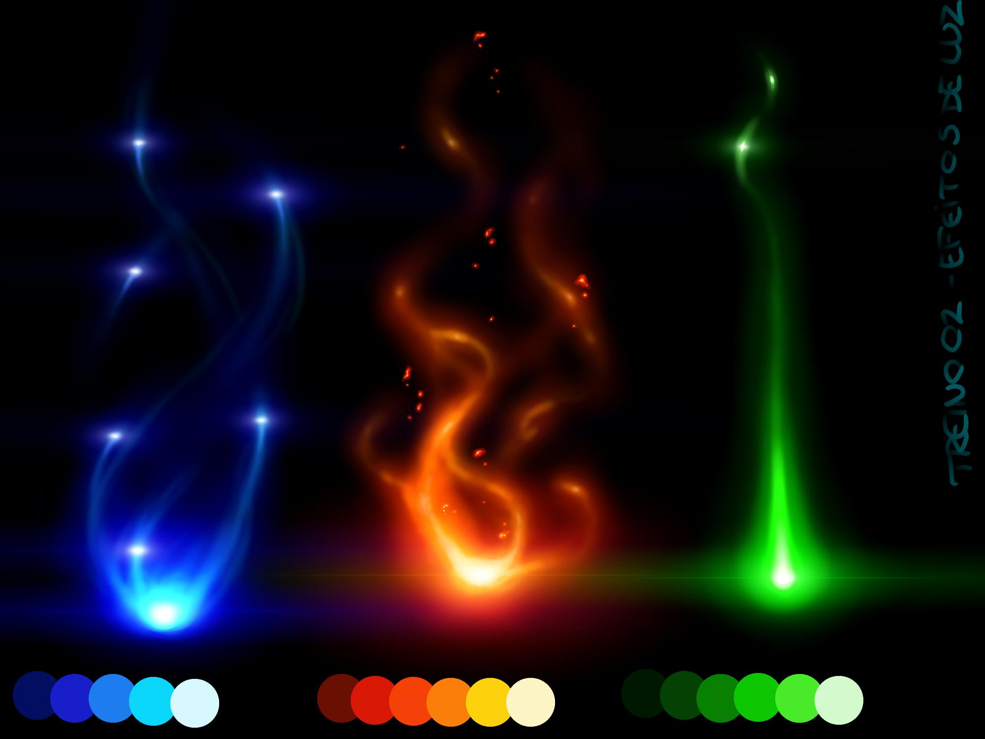 Lighting Effects Paint Net