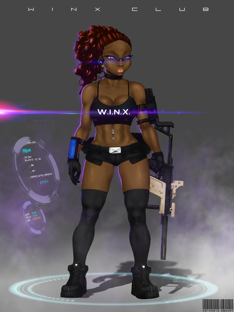 W.I.N.X. AISHA by amaury2502