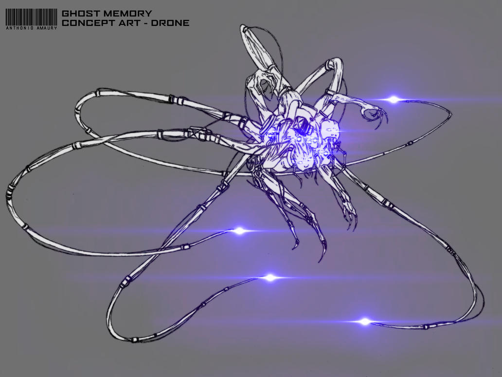 Ghost Memory - Drone by amaury2502