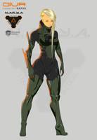 Diva - Concept Art - N.A.R.Y.A