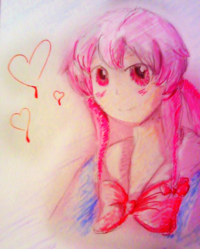 Mirai Nikki drawing by KiaraWizard01