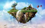 Floating Island Of Innisfree