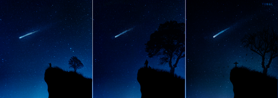 Halley's Comet by YongL on DeviantArt