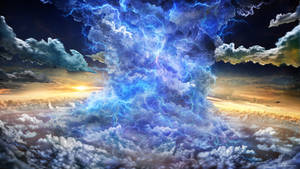 Gravitoelectric Storm