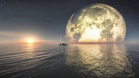 Moonrise by YongL