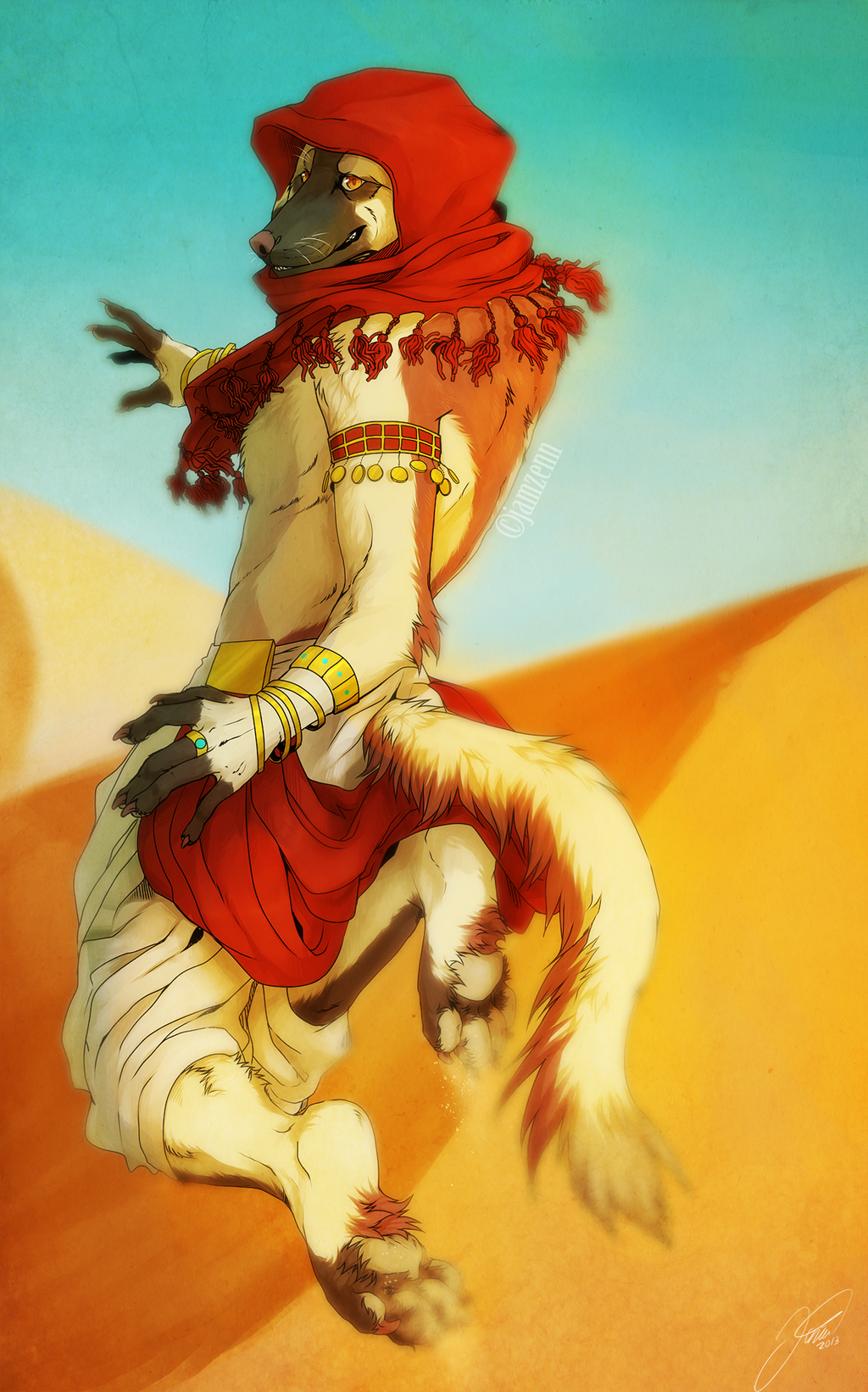 Desert run by jamzenn