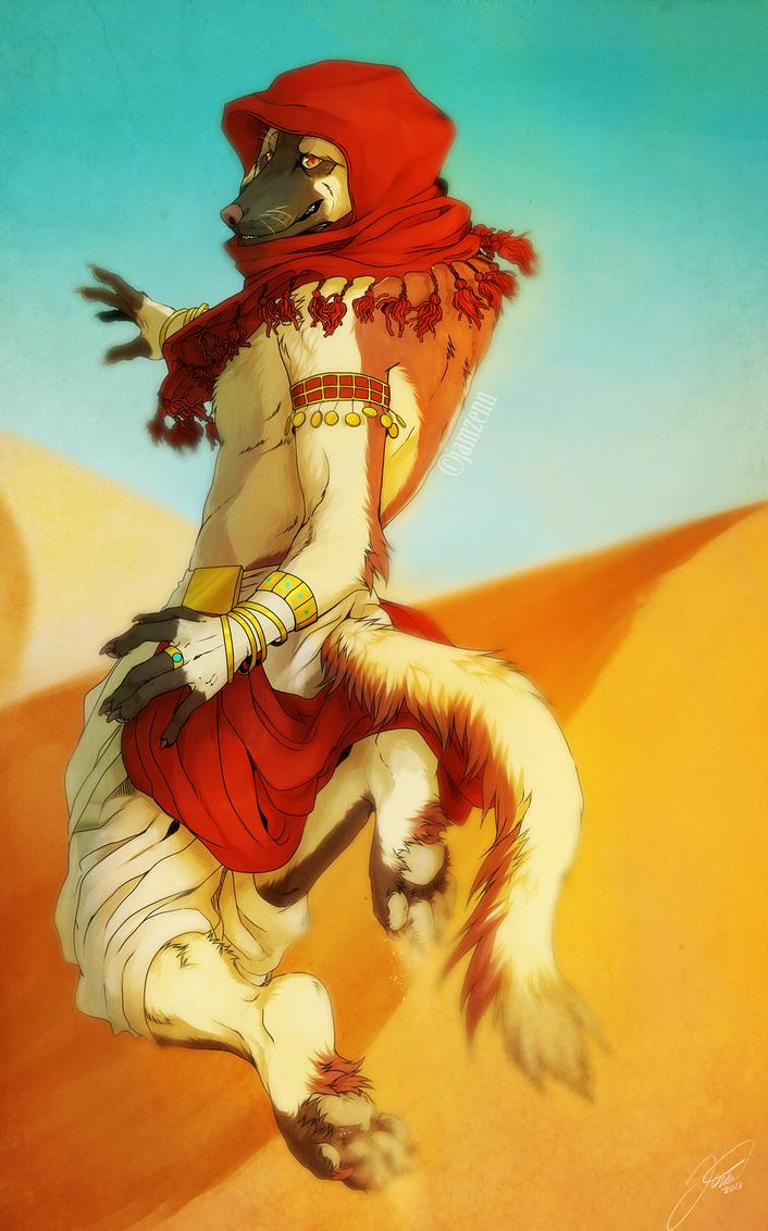 Desert run by jamzenn