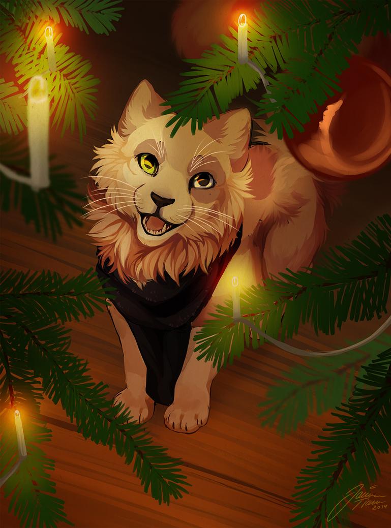Christmas lights by jamzenn