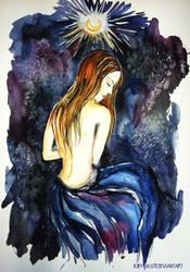 Under the black tourmaline moon by Jolite