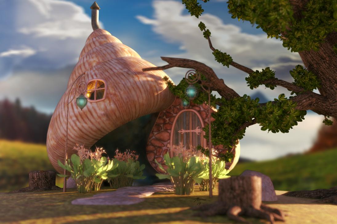 Snail House by Pleblu