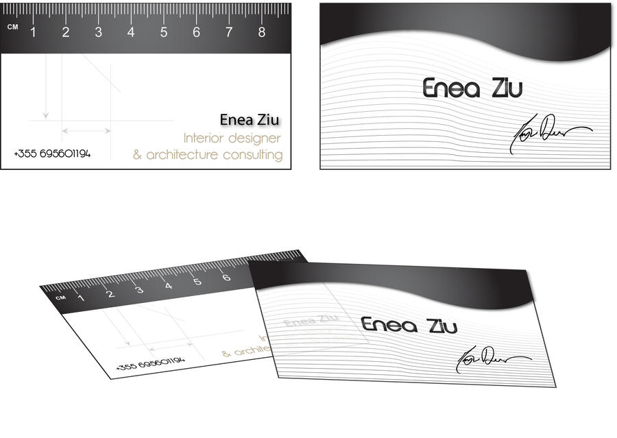 Ruler business card by eneaziu on deviantart ruler business card by eneaziu colourmoves