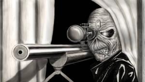 Iron Maiden - Eddie Sniper by BLueStormDragoN