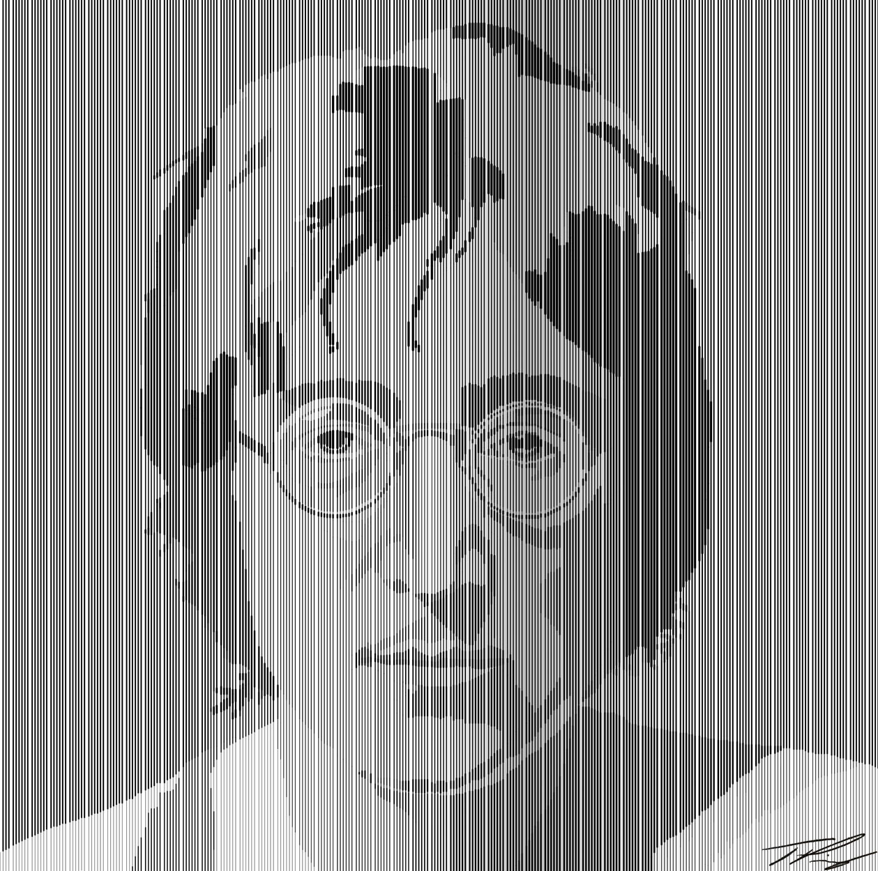 Line Drawing John Lennon : John lennon line drawing by studioartstudent on deviantart