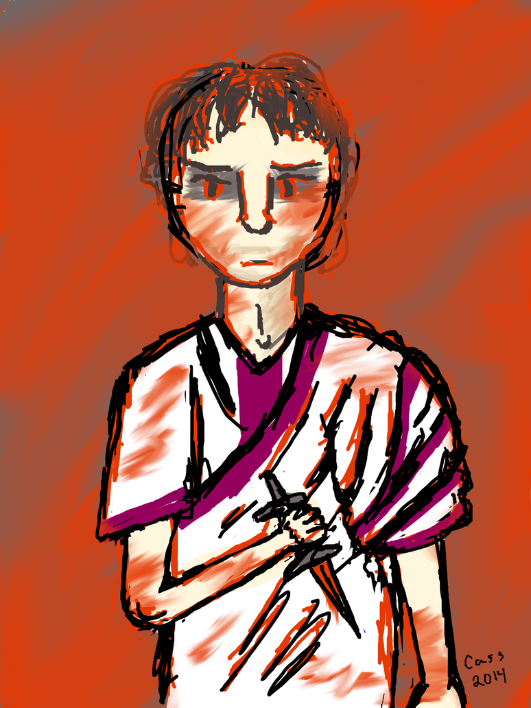 TNT Julius Caesar- Grimdark Assassin by RedOctoberRising