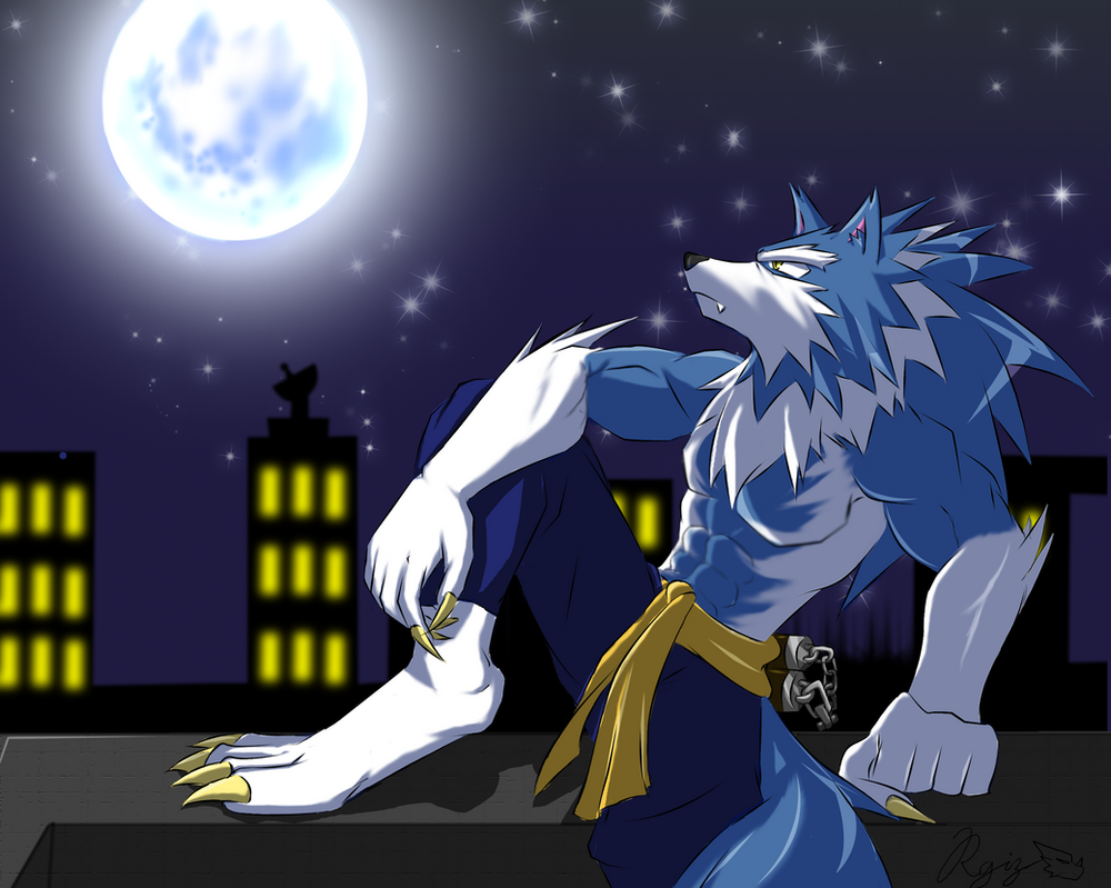 John Talbain Blue Moon By WarGreymon43