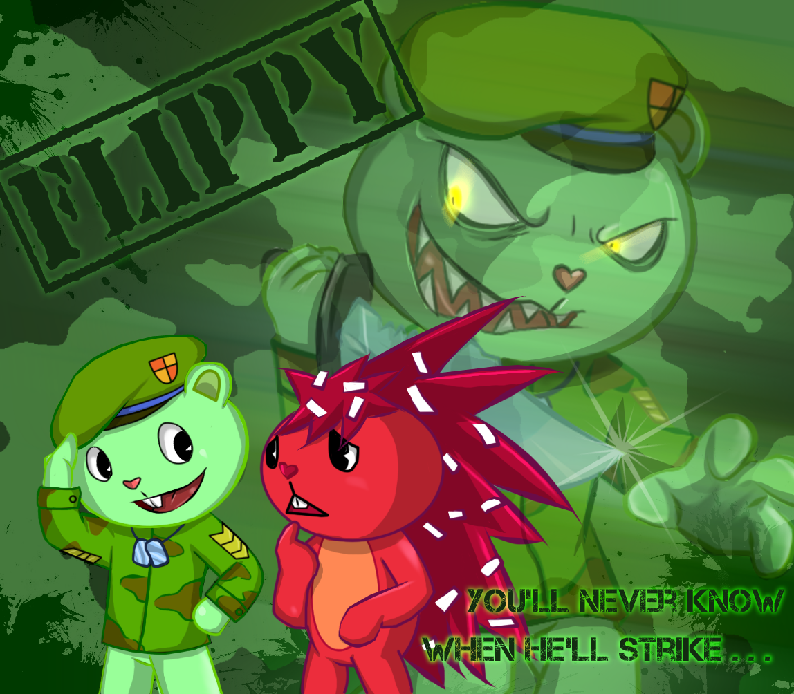 happy tree friends flippy and flaky relationship problems