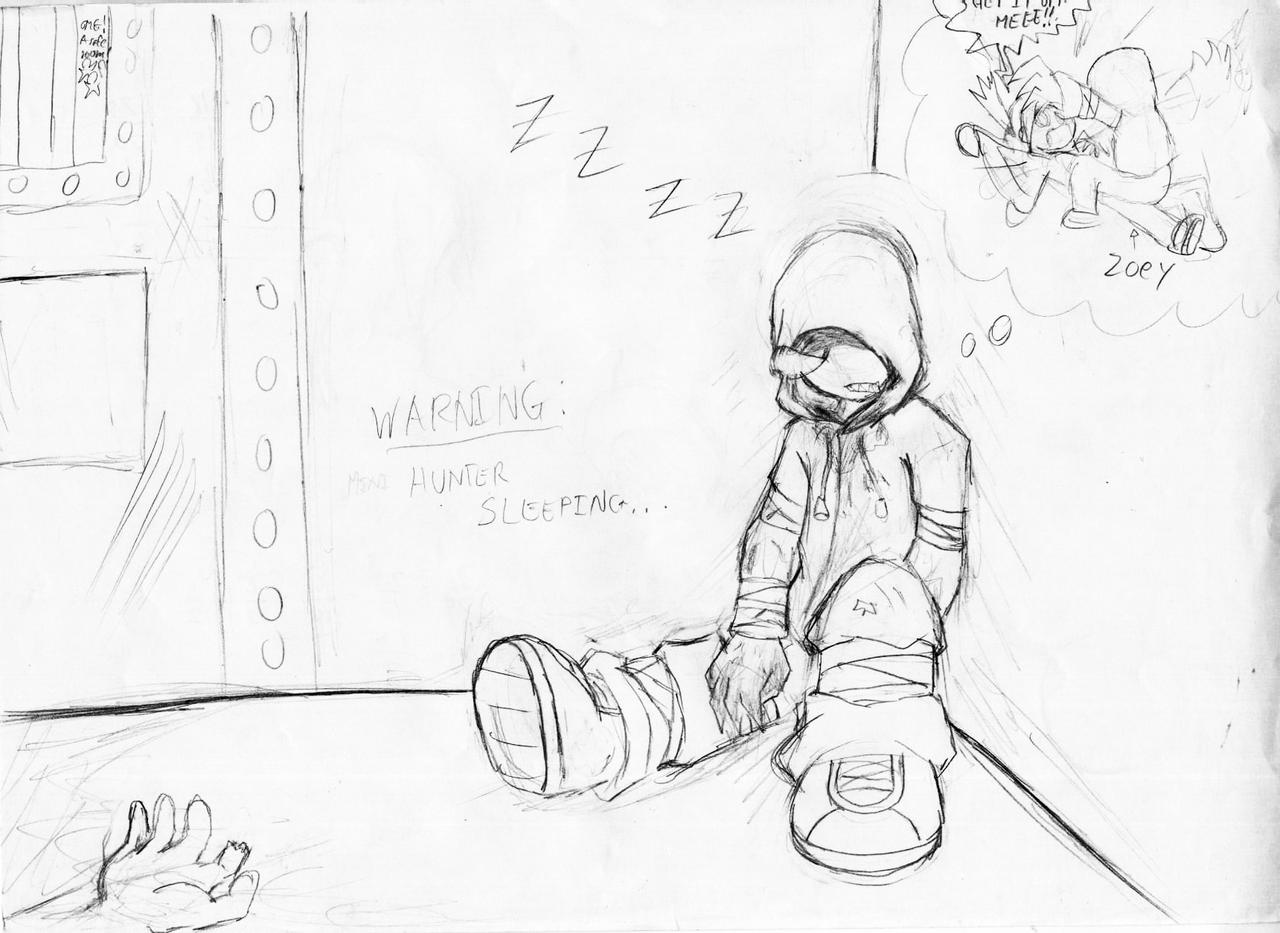 L4D Sleeping Hunter by WarGreymon43