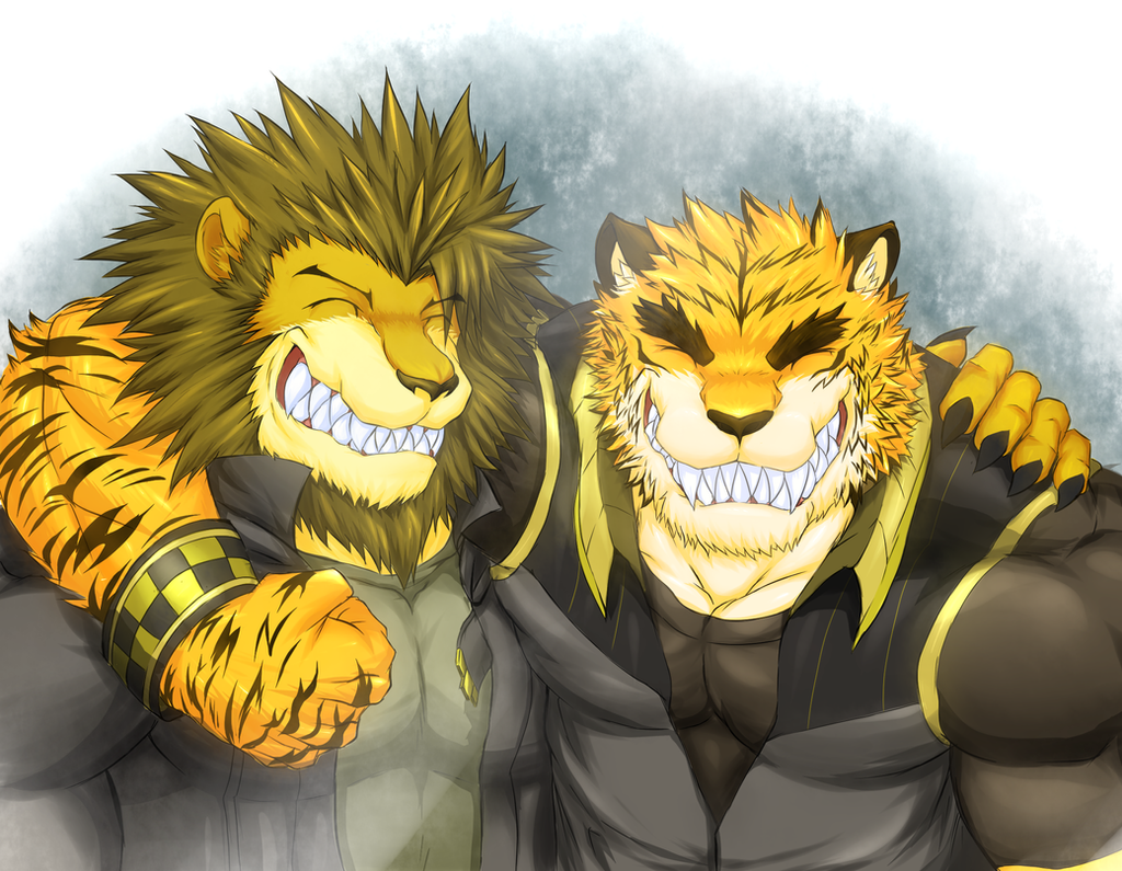 Bros by WarGreymon43