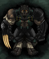 Kouya Bounty Hunter Gear by TitanDraugen