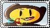 PixelFlame Fan Stamp by Darkkairo