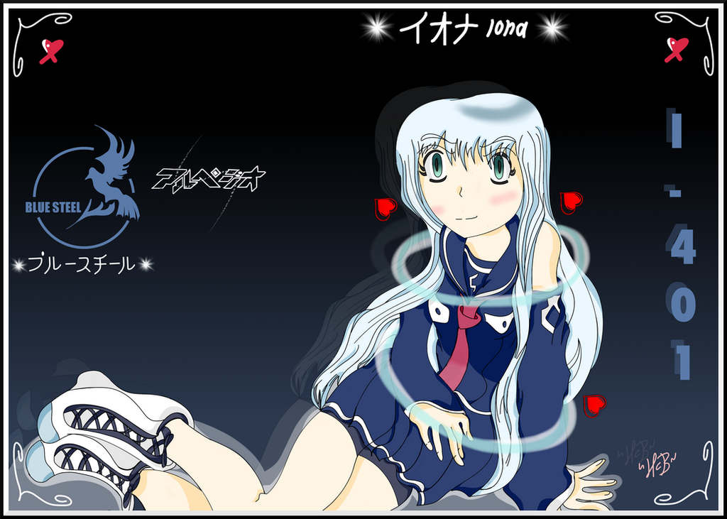 Arpeggio of Blue Steel - Iona by TheElementOfMagic