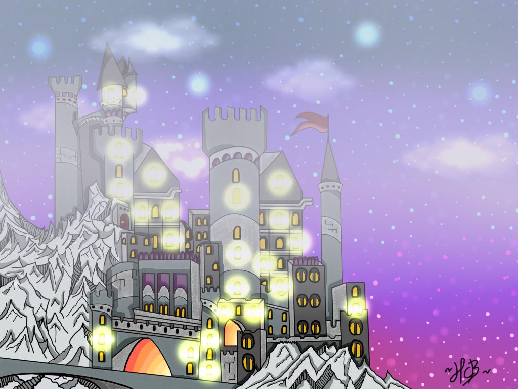 Fairytale Castle~ by TheElementOfMagic