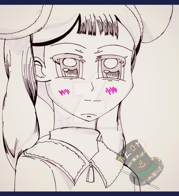 Pen Sketch: Meiling Li by TheElementOfMagic