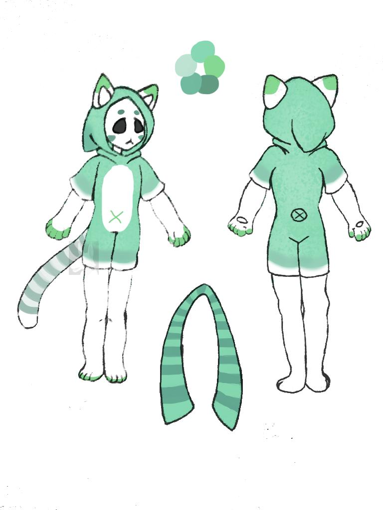 [Temp Ref] MYO Maskcat by Deamonsin-7