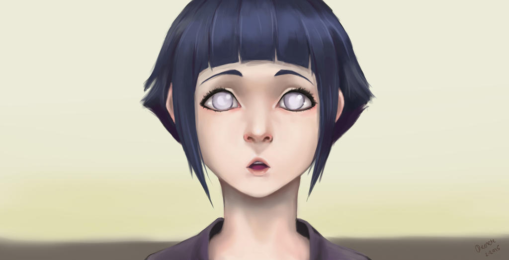 Hinata Hyuuga  ScreenshotStudy by Dicenete on DeviantArt