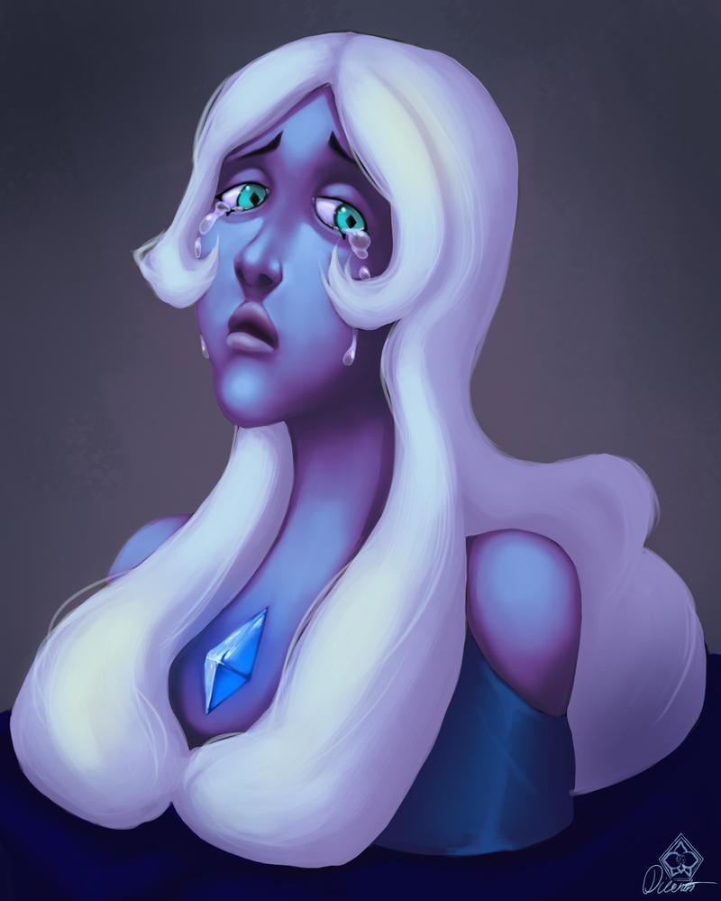 Grieve - Blue Diamond - Steven Universe by Dicenete