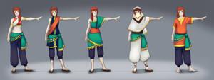 Yumi - Solaris outfit designs