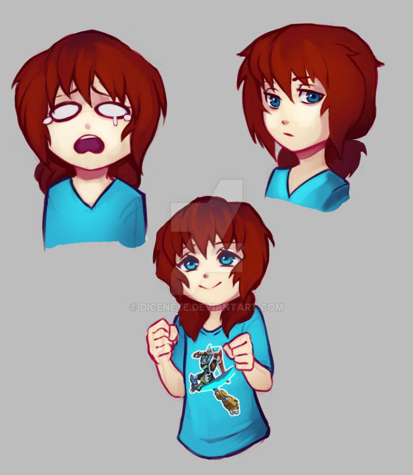 Yumi as a kid by Dicenete