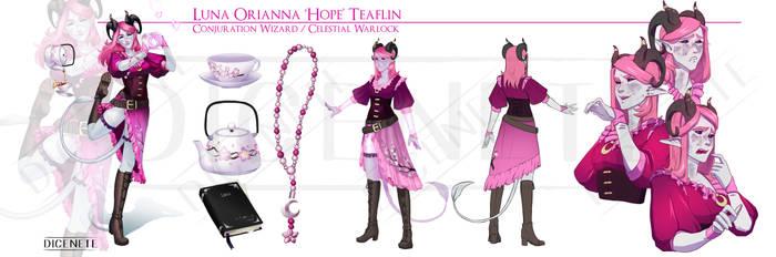 Character Commission - Luna Orianna Hope Teaflin