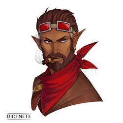 Raleigh Eldan - Character portrait commission