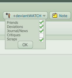 deviantWATCH Visual Suggestion by IAmTheArchitect