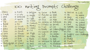 100 Writing Prompts Challenge
