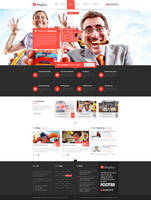 Mafioso PSD Template by donkeythemes