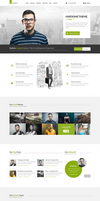 Bazooka Free PSD Template by donkeythemes