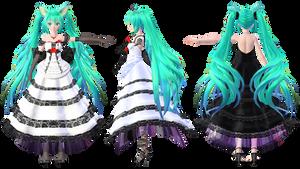 TDA Miku Lace Dress Ver2.5 DL Models