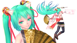 TDA Miku Blooming Flower Ver1.4 DL Models