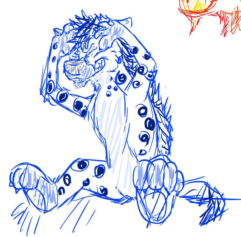 Stressed Sketch by Kierbyy