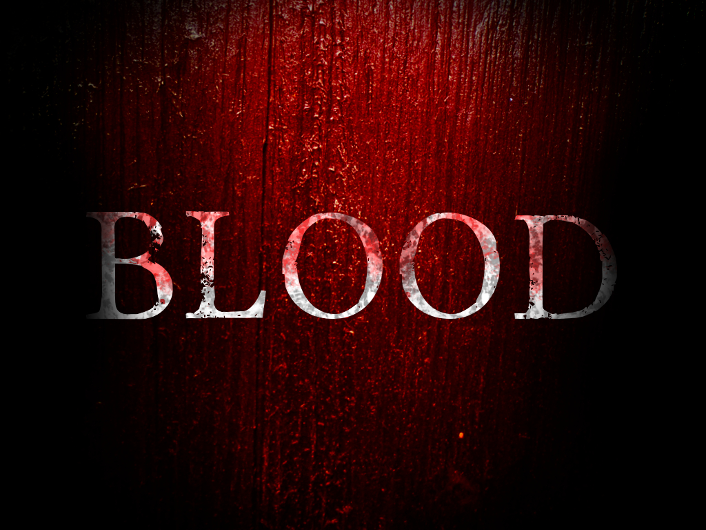 BLOOD wallpaper by code-rose on DeviantArt