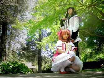 Madoka and Homura