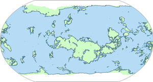 Terraformed Venus Basemap
