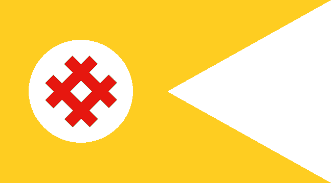 Flag of The Chinese Fifth Republic (PRC!USA) by Mattystereo