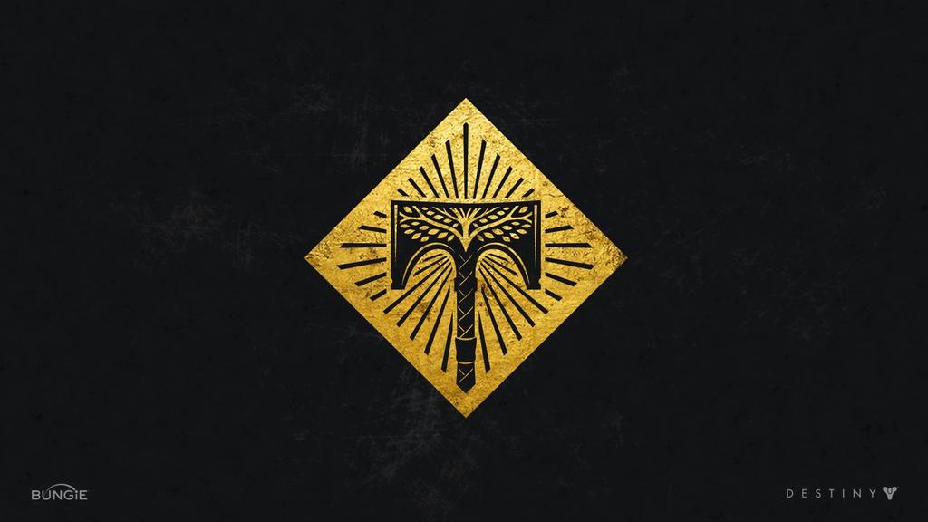 Destiny Rise Of Iron Wallpaper: Rise Of Iron Logo Wallpaper By 1337NinjaSakura On DeviantArt