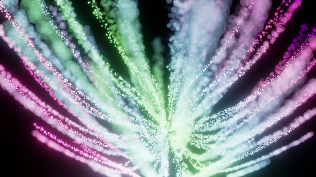 Fireworks Abstract Wallpaper
