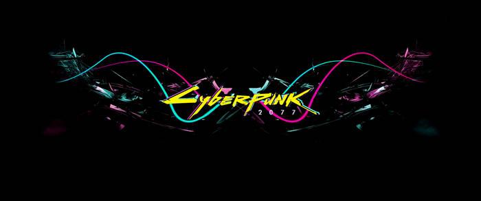 Cyberpunk 2077 (Neon lines - Yellow txt)